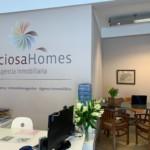 new website of Preciosa Homes.